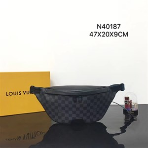 Сумка поясная LOUIS VUITTON DISCOVERY Damier Graphite