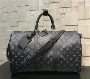 сумка LOUIS VUITTON DAMIER GRAPHITE KEEPALL ECLIPSE MONOGRAM LUX