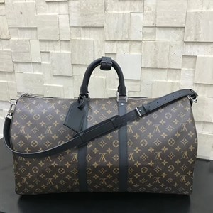 сумка LOUIS VUITTON MONOGRAM MACASSAR KEEPALL 55 LUX