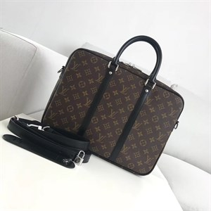 Портфель LOUIS VUITTON PORTE-DOCUMENTS VOYAGE Monogram Macassar
