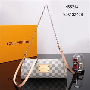 Сумка - клатч  LOUIS VUITTON AZUR CANVAS EVA LUX
