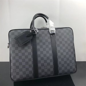Портфель серый LOUIS VUITTON ICARE DAMIER GRAPHITE LUX