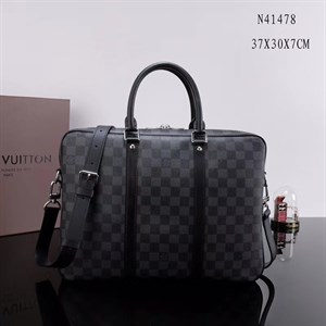 портфель LOUIS VUITTON PORTE-DOCUMENTS VOYAGE DAMIER GRAPHITE