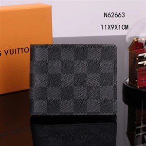 Портмоне LOUIS VUITTON Multiple Damier Graphite