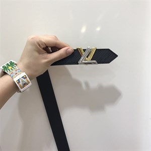 Ремень кожаный Louis Vuitton TWIST Epi Leather